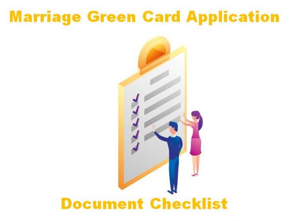 Document Checklist for Marriage Green Card Application